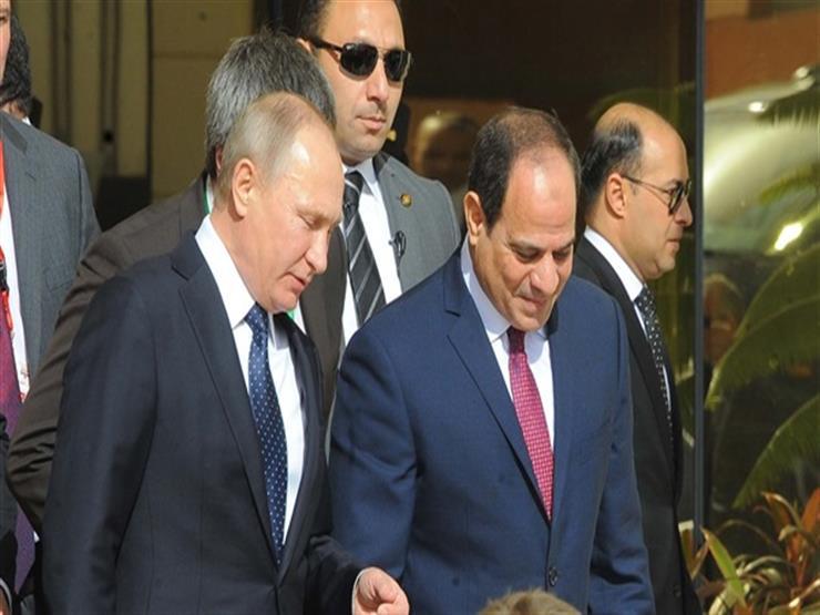 الرئيس السيسي يلتقي بوتين في بكين
