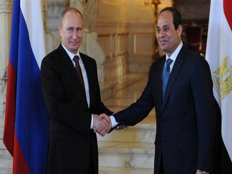 الرئاسة: بوتين يهنئ السيسي بنجاح الاستفتاء الدستوري