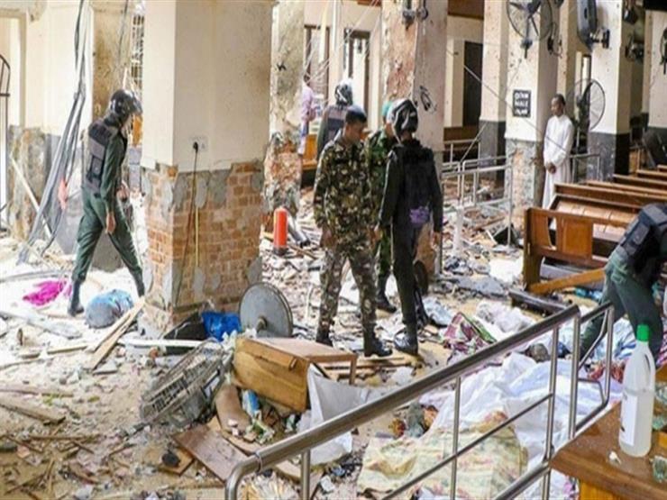 إصابة زوجة وابنة العقل المدبر لتفجيرات سريلانكا في مداهمة للشرطة