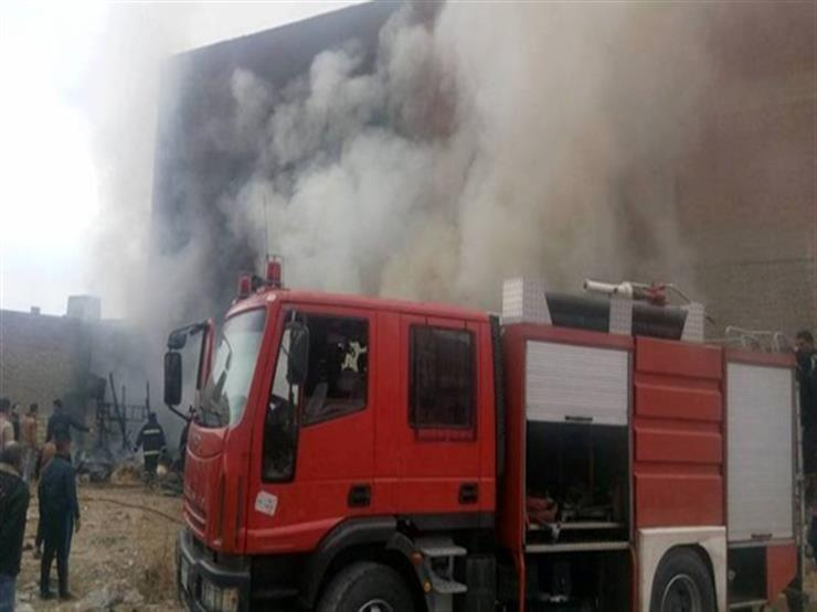 بسبب تسرب الغاز.. حريق داخل منزلين في سوهاج