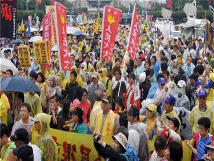 تظاهر الآلاف في تايوان احتجاجا على الطاقة النووية