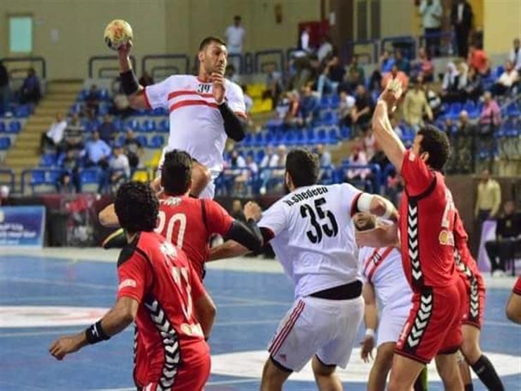 الزمالك بطلا لدوري المحترفين لليد بالفوز على الأهلي 21-18