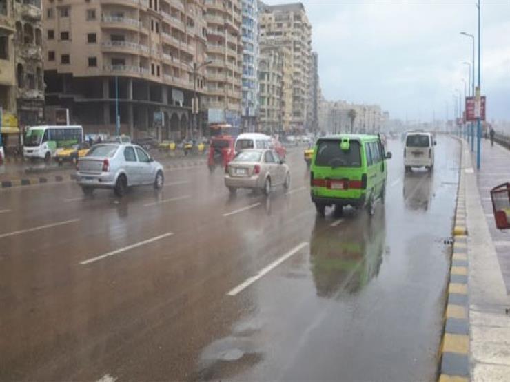 """""""التنبؤ بالفيضان"""": سقوط أمطار على مناطق بسيناء"""
