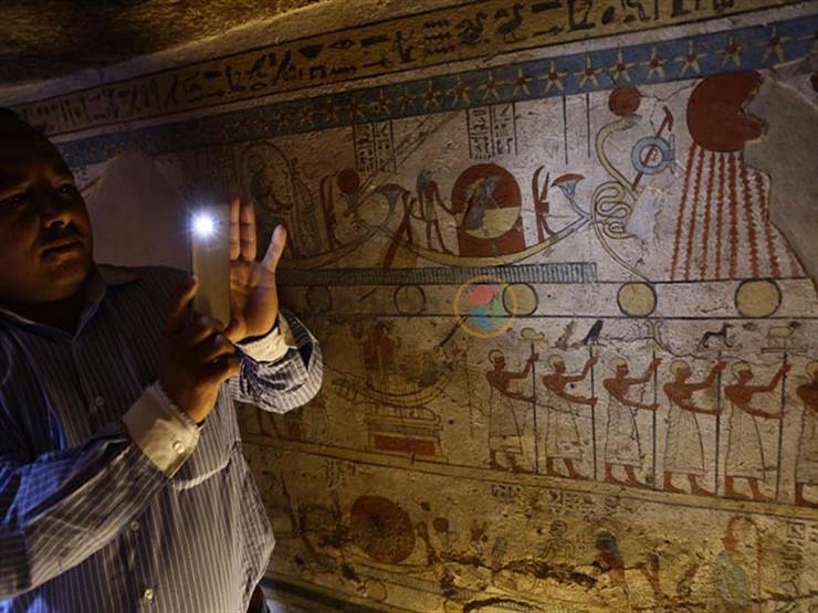 """""""الآثار"""": فك جدران مقبرة توتو بسوهاج لنقلها للعاصمة الإدارية"""