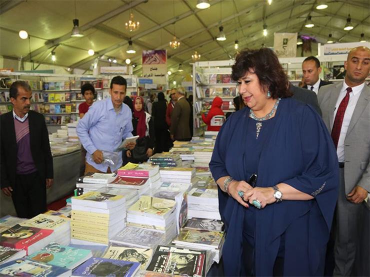 إيناس عبدالدايم: احتضان مدينة الثغر لمعرض الكتاب يُثري الحراك الثقافي