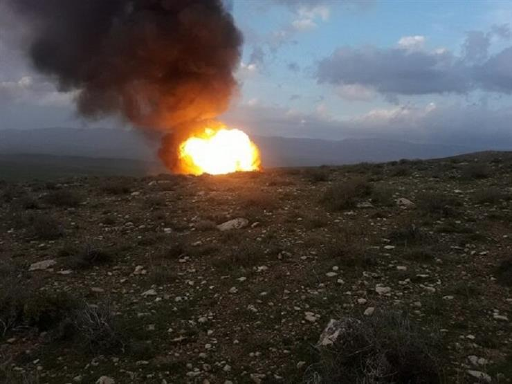 Explosion of a pipeline to West Iran gas pipeline