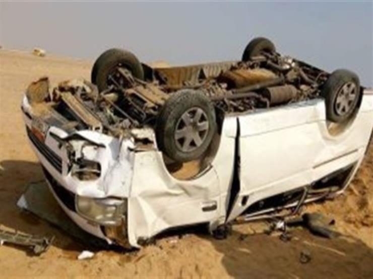 """إصابة 7 أشخاص في انقلاب """"ميكروباص"""" على طريق المحمودية في الإسكندرية"""