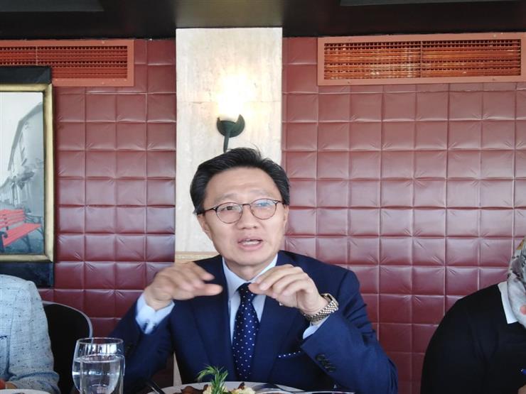 سفير كوريا الجنوبية بالقاهرة: نسعى لإبرام اتفاقية تجارة حرة مع مصر