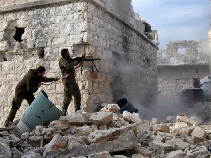 تواصل الاشتباكات في شمال غربي سوريا