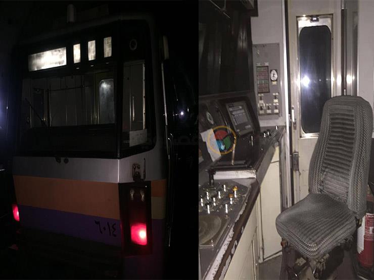 صور.. المترو يفسّر سبب مغادرة سائق القطار المتعطل كابينة القيادة؟
