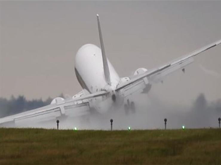نجاة ركاب طائرة هبطت بدون فتح عجلات الهبوط في ميانمار