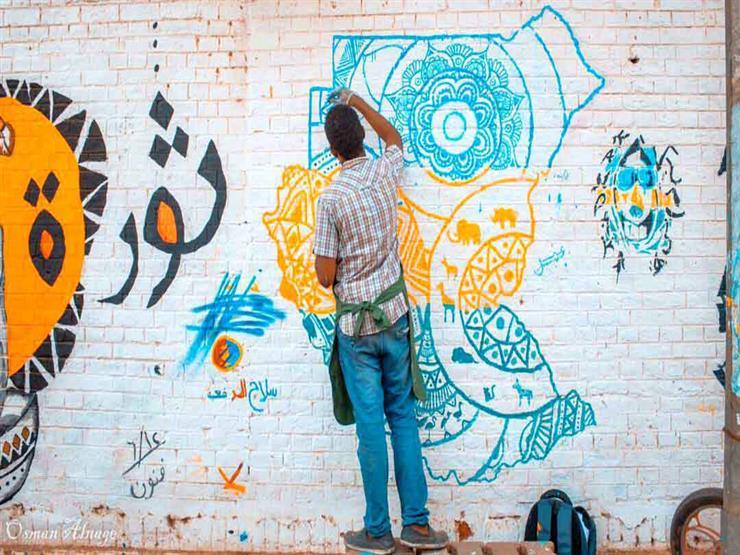 جداريات بلون الثورة.. حكاية رسامي الجرافيتي في السودان