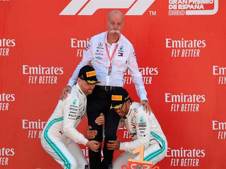 من جديد.. مرسيدس يهيمن على فورمولا-1 وهاميلتون يفوز بسباق برشلونة
