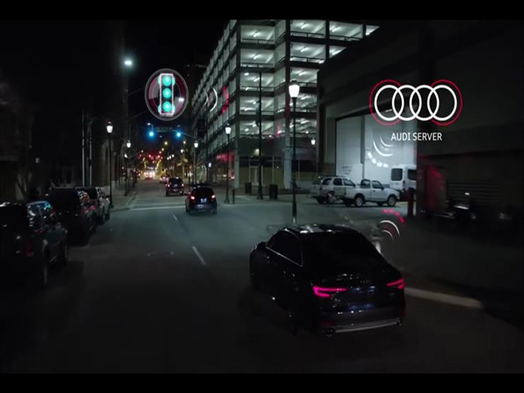 """""""أودي"""" تبتكر نظاما يساعد السائقين في عدم التوقف عند إشارات المرور"""