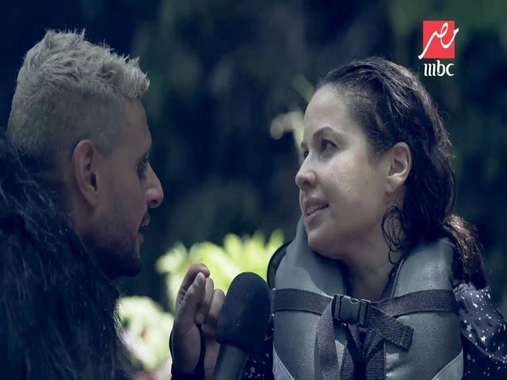 بالفيديو| ريا أبي راشد تكشف حقيقة علمها المسبق بمقلب رامز في الشلال