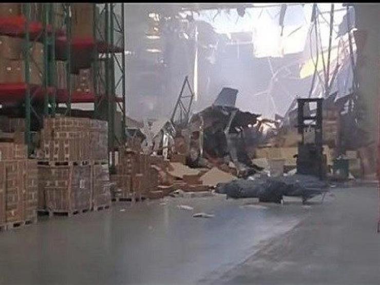 اشتعال حريق في مخزن إثر تحطم طائرة أمريكية إف 16 في كاليفورنيا