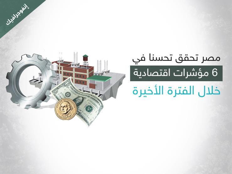 الحكومة تعلن 6 مؤشرات اقتصادية إيجابية خلال مايو (إنفوجرافيك)