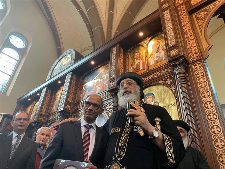 البابا تواضروس عن هاني عازر: فخر كل المصريين