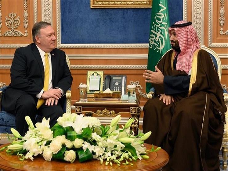 ولي العهد السعودي ووزير الخارجية الأمريكي يبحثان جهود استقرار المنطقة