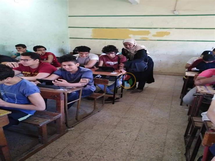 من إجمالي 109.. امتحان الأحياء لأولى ثانوي إلكتروني في 89 مدرسة بالإسكندرية