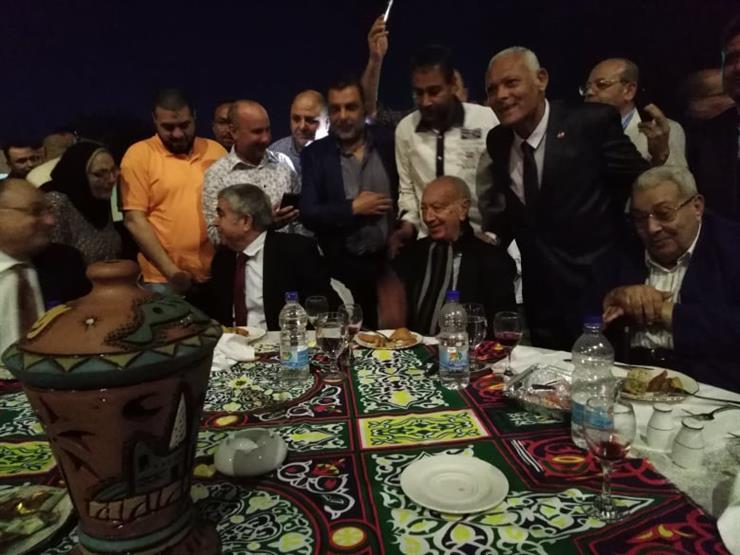 صور  بعد شائعة وفاته.. اللواء عبد السلام المحجوب في إفطار غر   مصراوى