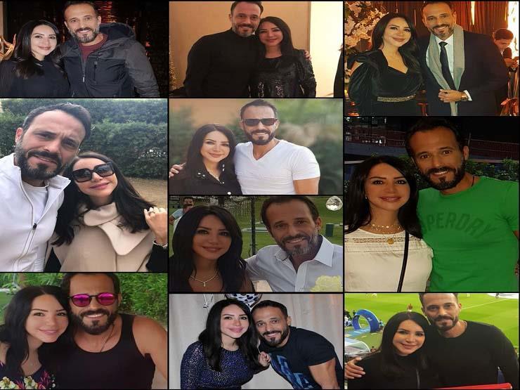 في عيد زواجهما العاشر.. إنجي علاء توجه رسالة رومانسية إلى يوسف الشريف