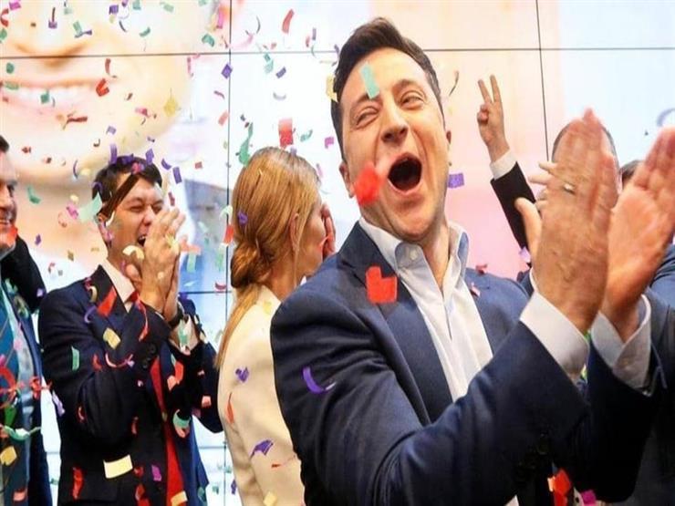 اليوم.. تنصيب الممثل التلفزيوني زيلينسكي رئيسا لأوكرانيا