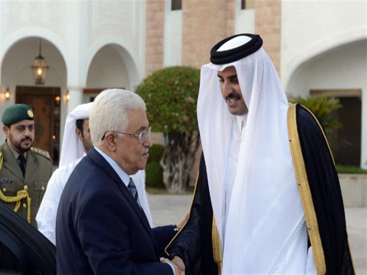 عباس يشكر أمير قطر على دعمه الثابث للقضية الفلسطينية