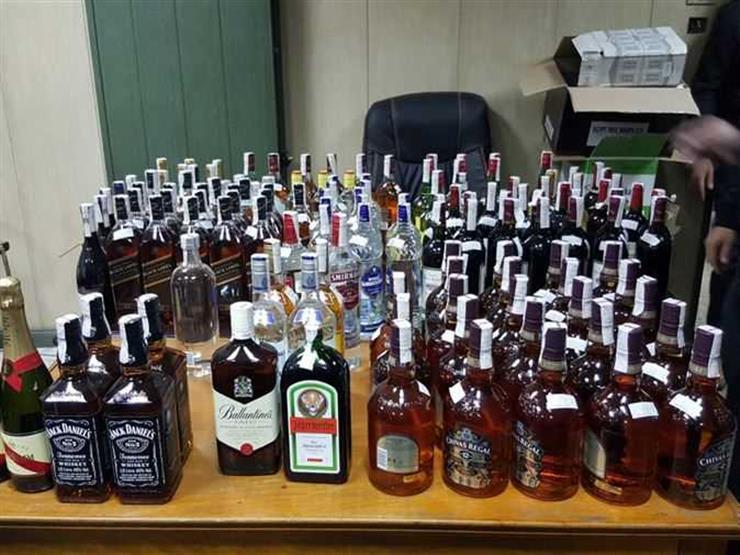 إحباط تهريب كمية كبيرة من المشروبات الكحولية في ميناء دمياط