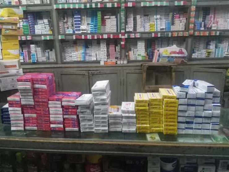 """""""صحة الجيزة"""": ضبط أدوية مهربة داخل صيدلية بالمهندسين"""