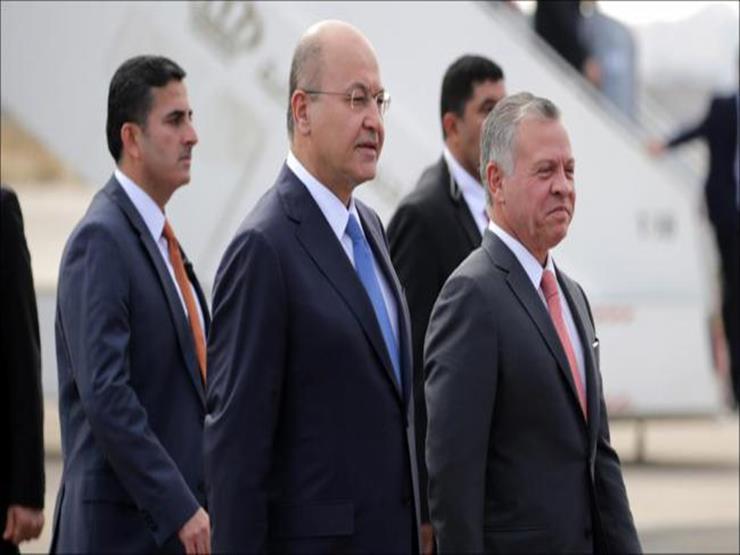الرئيس العراقي يختتم زيارته للأردن بعد لقائه بالملك عبد الله