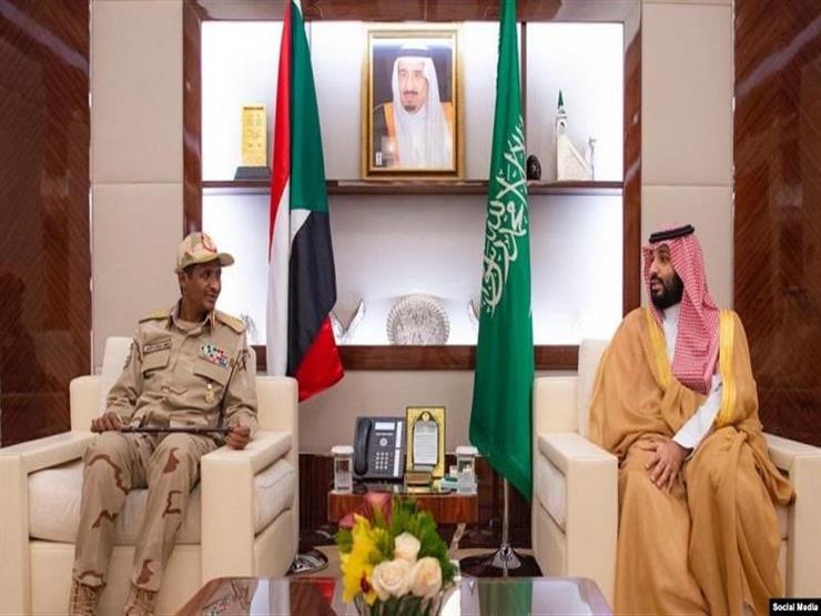 محمد بن سلمان يلتقي نائب رئيس المجلس العسكري السوداني