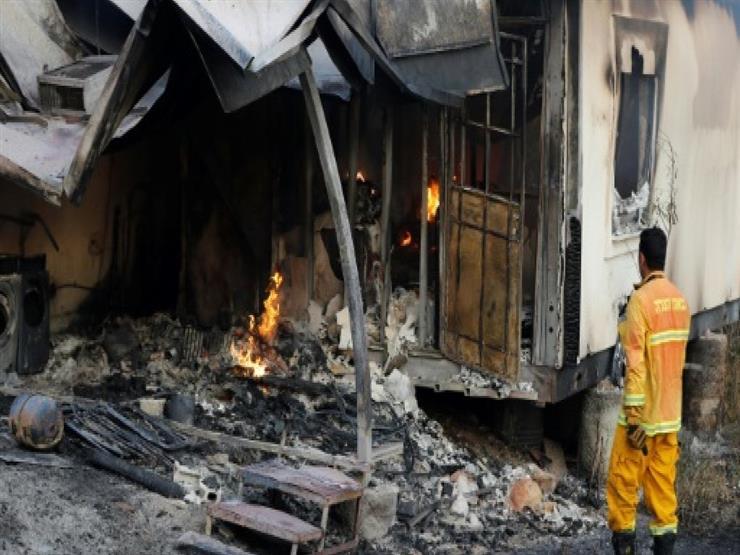 حرائق في اسرائيل والضفة المحتلة تدمر عشرات المنازل