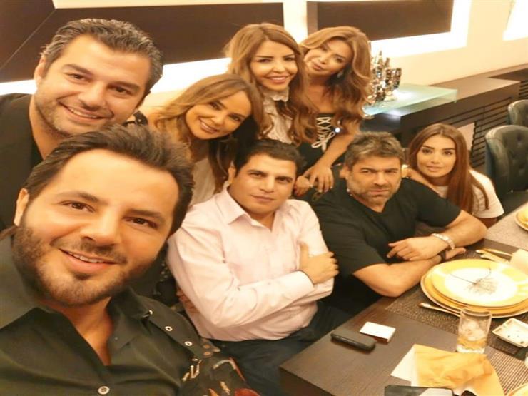 """نوال الزغبي تحتفل بعيد ميلاد """"نيشان"""" في منزلها بحضور وائل كافوري"""