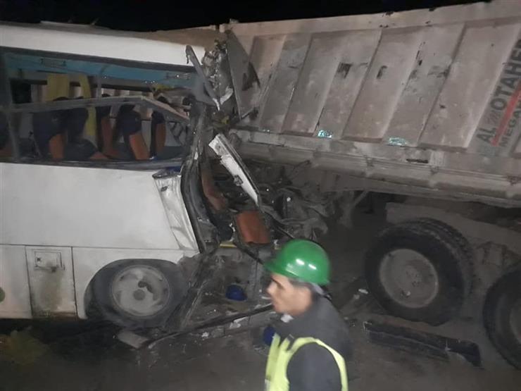 مصرع 5 أشخاص بينهم 4 سودانيين وإصابة 51 في حادث سير بقنا