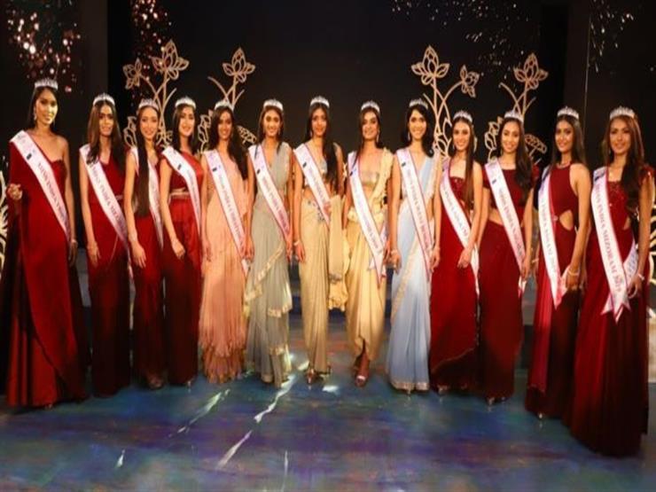 متباريات يشبهن بعضهن البعض في مسابقة ملكة جمال الهند   مصراوى