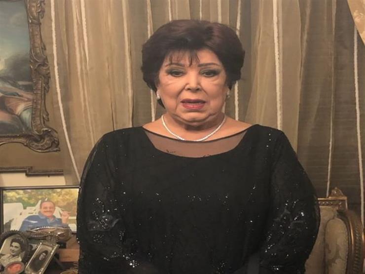 """""""فيديو  رجاء الجداوي تبكي: """"هيثم أحمد زكي شاف أنواع الحزن كلها"""