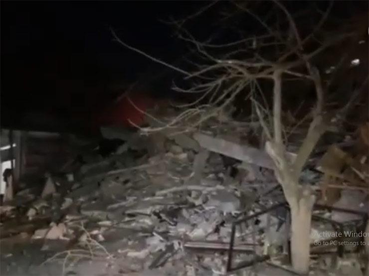 اللحظات الأولى لقصف إسرائيل مكتب وكالة الأناضول التركية (فيديو)