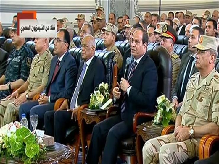 """""""مهم أوي تعرفوا"""".. السيسي يوضح دور الجيش في تنفيذ المشروعات القومية"""