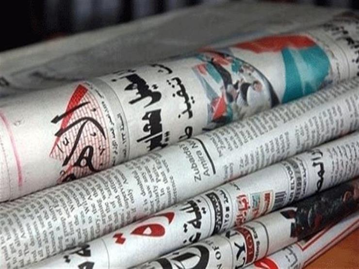 نشاط السيسي وموافقة البرلمان على إعلان الطوارئ يتصدران عناوين الصحف