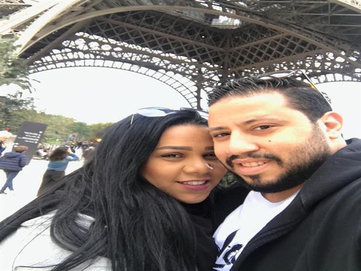 """محمد كارتر لشيماء سيف في عيد زواجهما الأول: """"سنة أولى حياة"""""""
