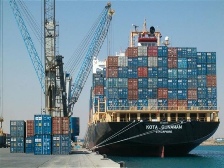 شحن 6000 طن صودا و3400 طن رخام بموانئ بورسعيد