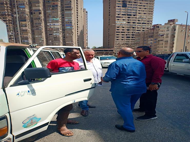 ضبط 55 سيارة مخالفة بالجيزة