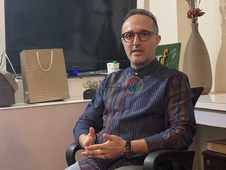 """شريف مدكور عن إصابته بسرطان القولون: """"لازم نحمد ربنا على كل حاجة"""""""