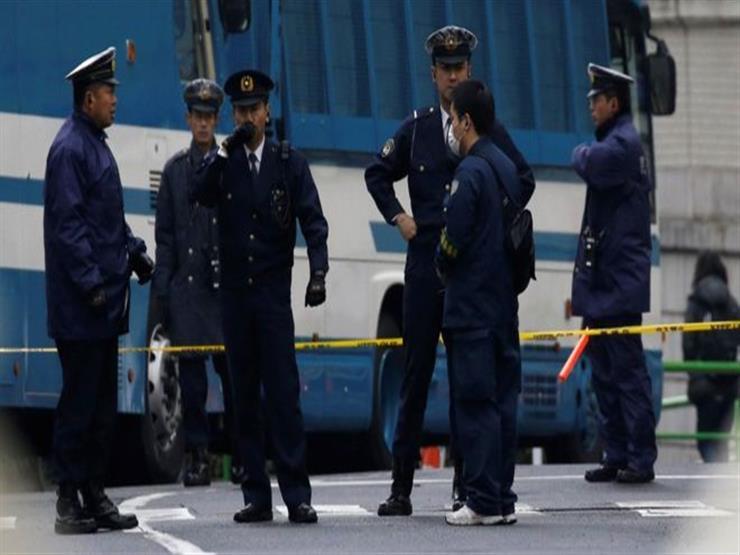 إصابة 13 شخصا دهستهم سيارة غربي اليابان