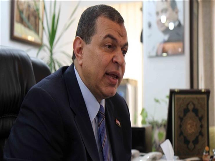 وزير القوى العاملة يهنئ محافظ دمياط بالعيد القومي