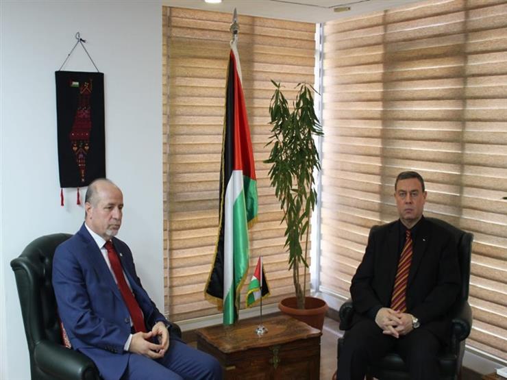 السفير الفلسطيني يستقبل مدير صندوق الأمم المتحدة للسكان بالق   مصراوى