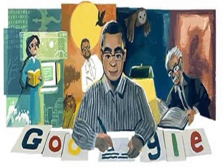 جوجل  يحيي ذكرى ميلاد  أحمد خالد توفيق    مصراوى