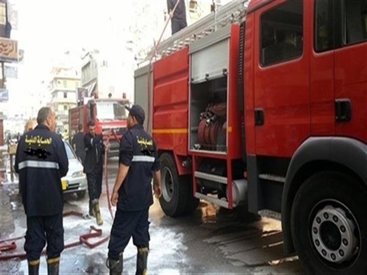 السيطرة على حريق مصنع للبسكويت بالشرقية