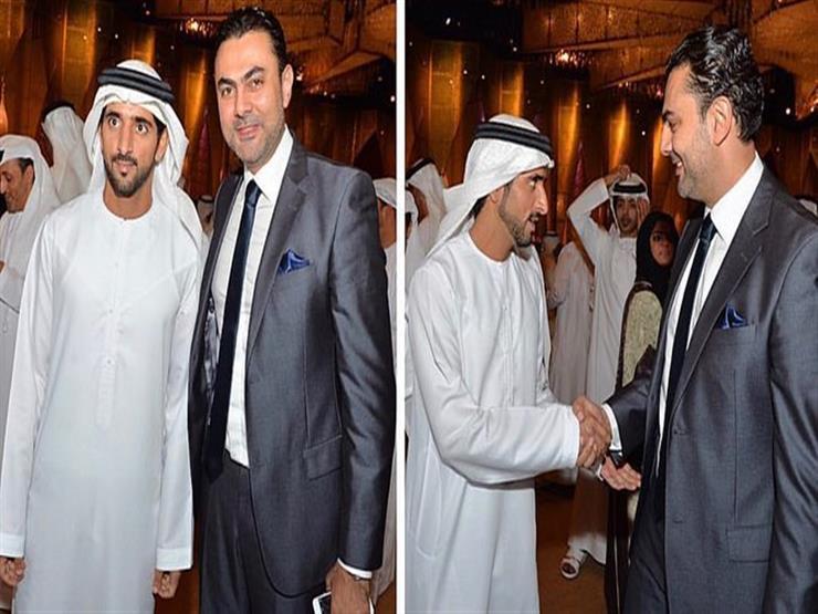 محمد كريم يهنئ حاكم دبي بزفاف أبنائه   مصراوى